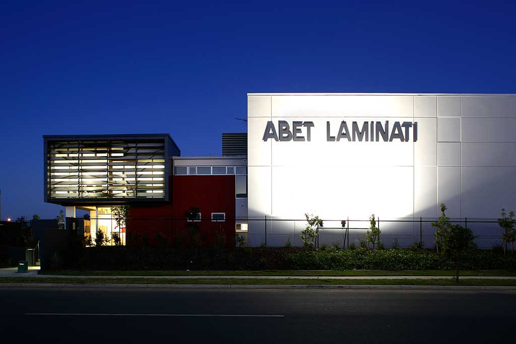 abet laminati queensland office, commercial
