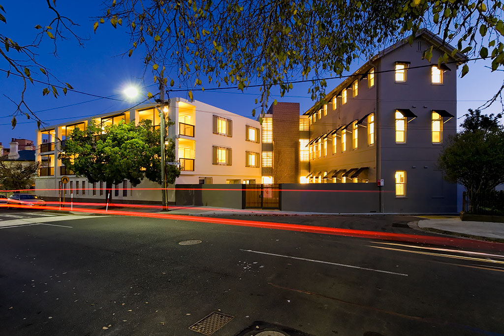 sydney convent, sisters of charity, staff accommodation