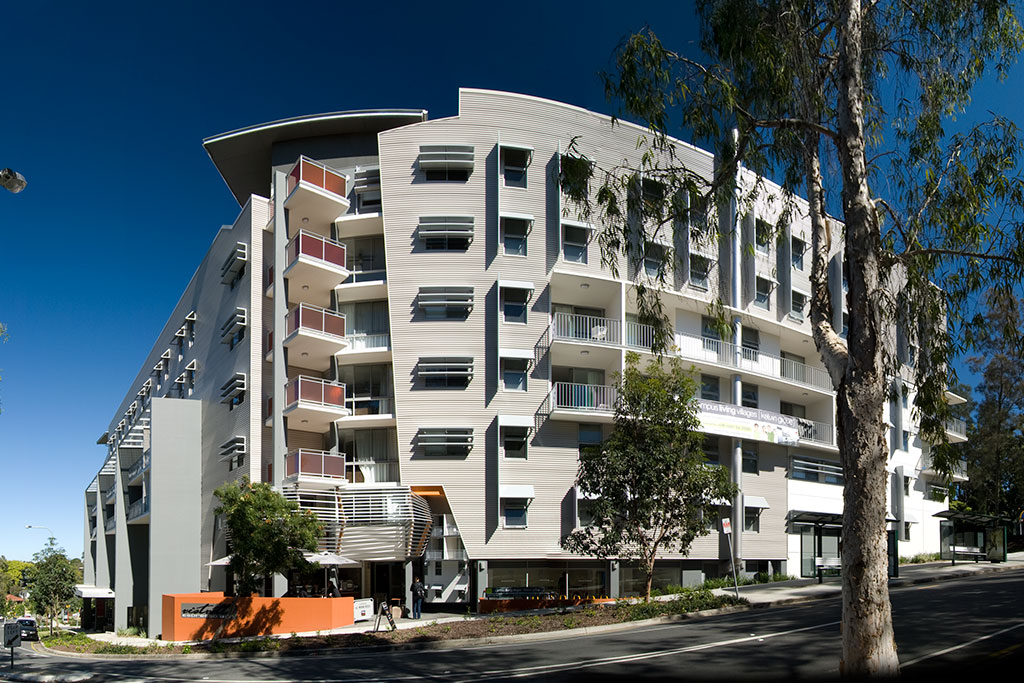 Campus_Living_Villages_QUT_exterior, student housing