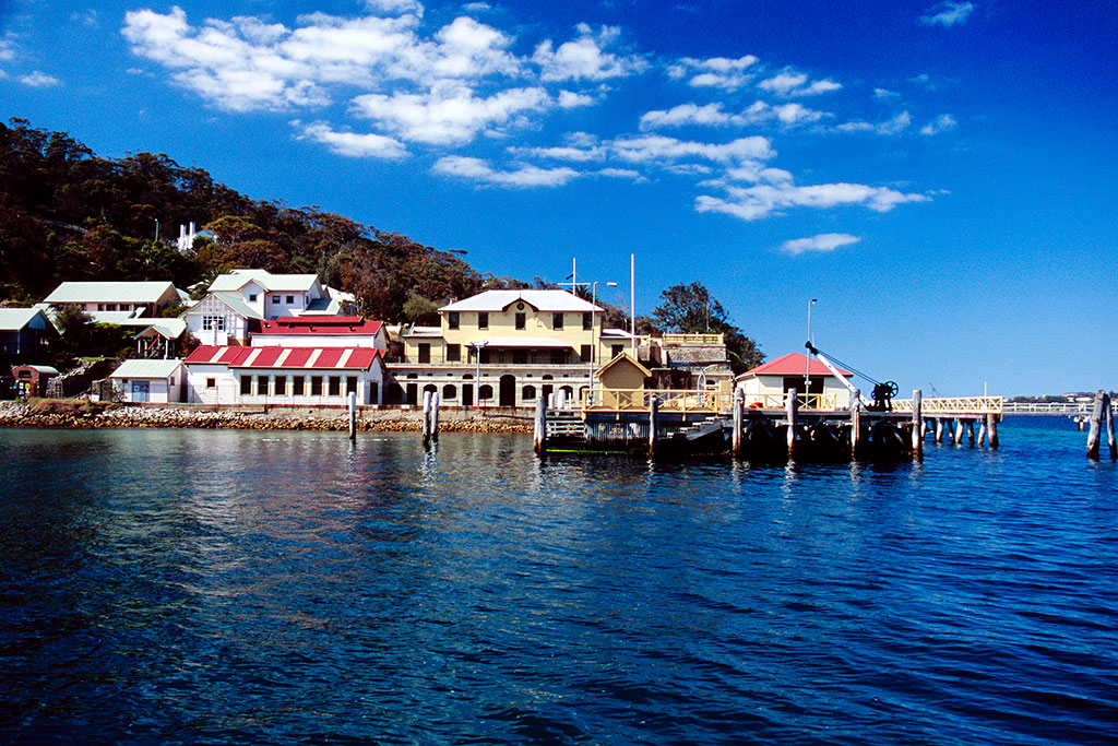 Submarine Mine Depot Chowder Bay