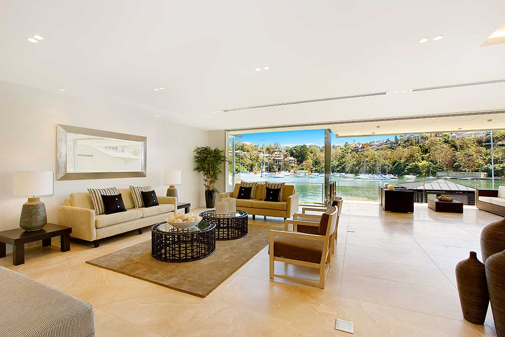 Watermarque_living, Mosman, waterfront, medium rise apartment, low rise apartment