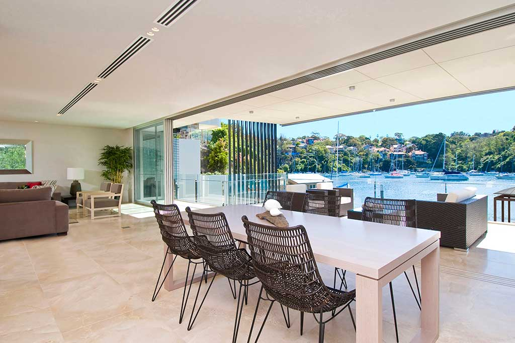 Watermarque_dining, Mosman, waterfront, medium rise apartment, low rise apartment