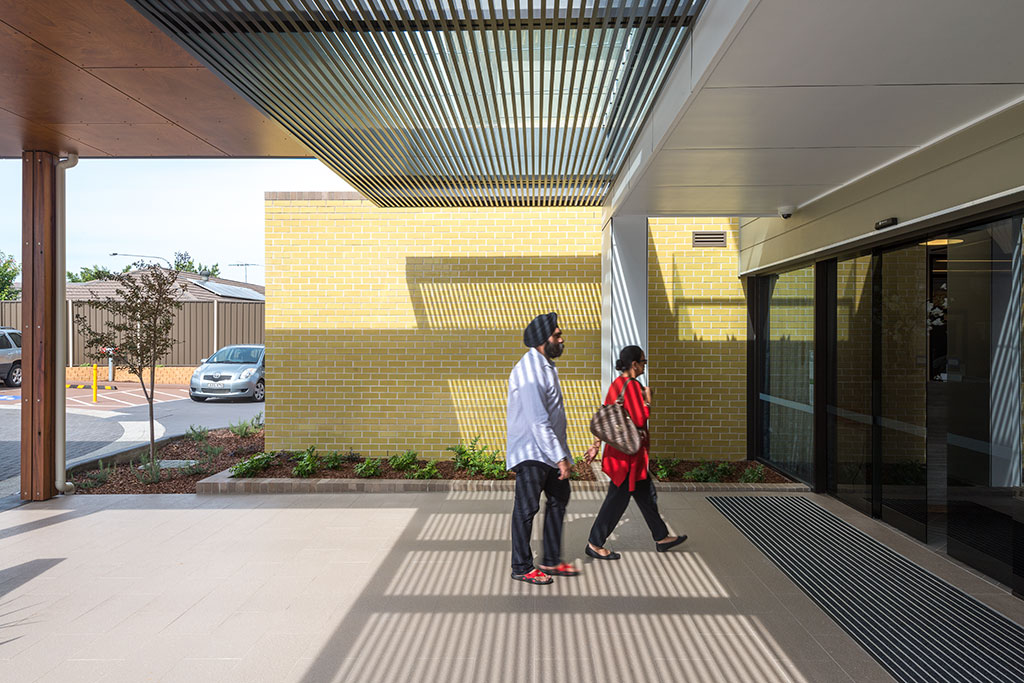 Quakers_hill_entry, seniors living, aged care