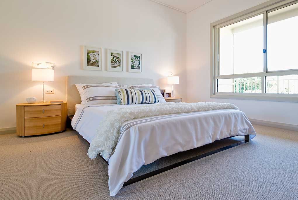 Hillcrest_village_bedroom,seniors living, aged care