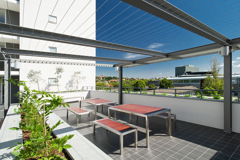 New College_balcony, Sydney University, Student housing