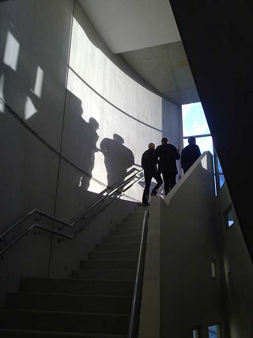 Kerrie Murphy Building International Grammar school Sydney interior stairs