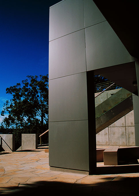 redleaf, woollahra council chambers, precast concrete, sandstone