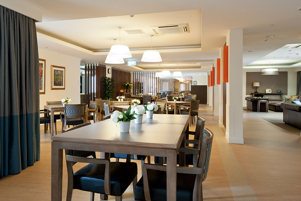 Bupa bankstown dining room