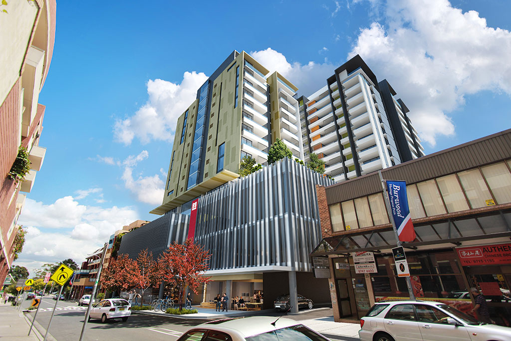 B1 square Burwood,